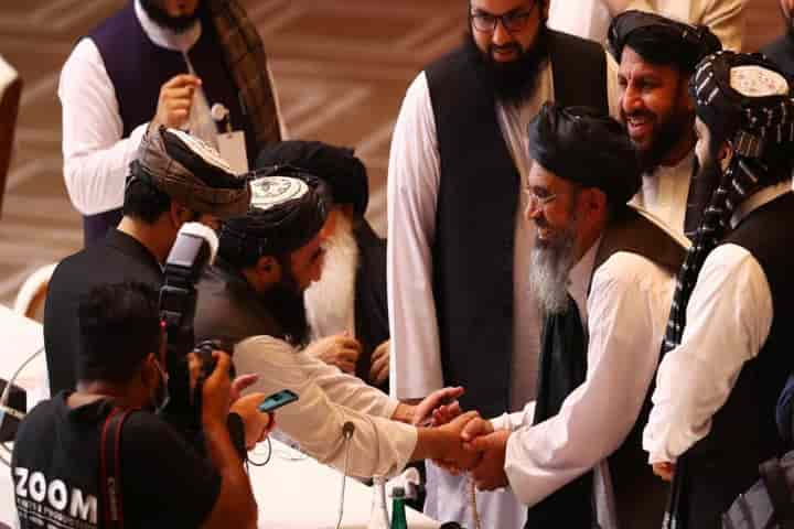 The Afghanistan Government and Taliban agreed to continue to talk on peace  as the broke off for Eid (Pic: Courtesy bbc.com)