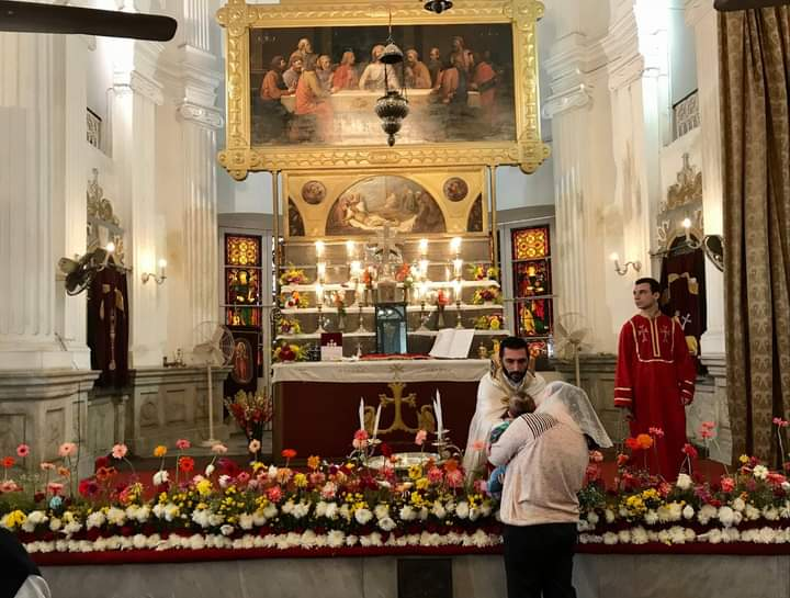 The Armenian Church of Nazareth in Kolkata (Photos: Facebook)
