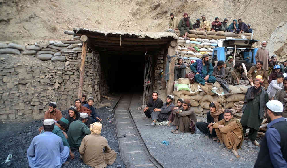 The coal miners in Balochistan (Photo: IANS)