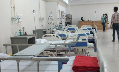 A hospital in Dhaka, Bangladesh is in the middle of a second Covid wave