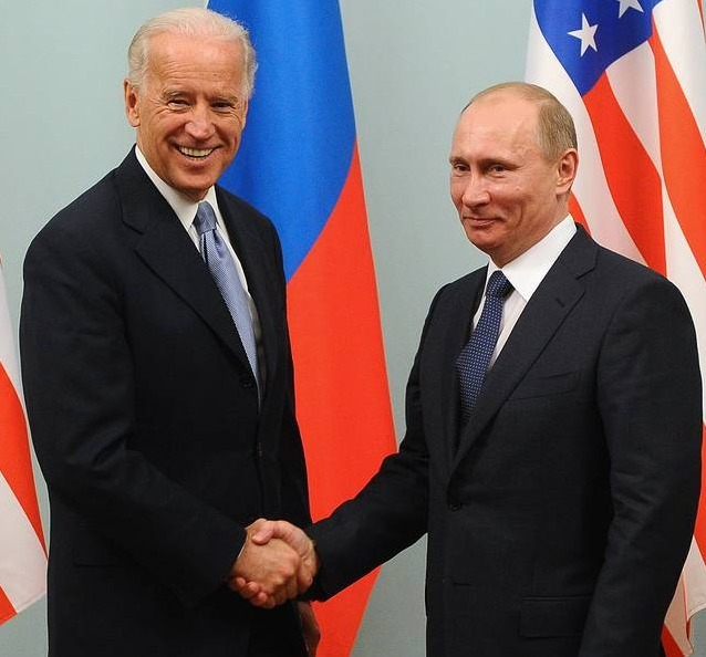 US President Joe Biden has said that he was ready for an unconditional meeting with his Russian counterpart, Vladimir Putin (Pic: Courtesy ITAR-TASS)