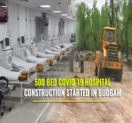 COVID 19 Hospital In Budgam