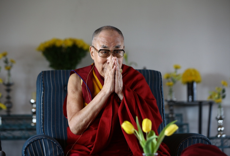Prime Minister Narendra Modi's greetings to Tibetan spiritual leader the Dalai Lama on his 86th birthday is seen as a major strategic shift in policy on Tibet (Photo: IANS)