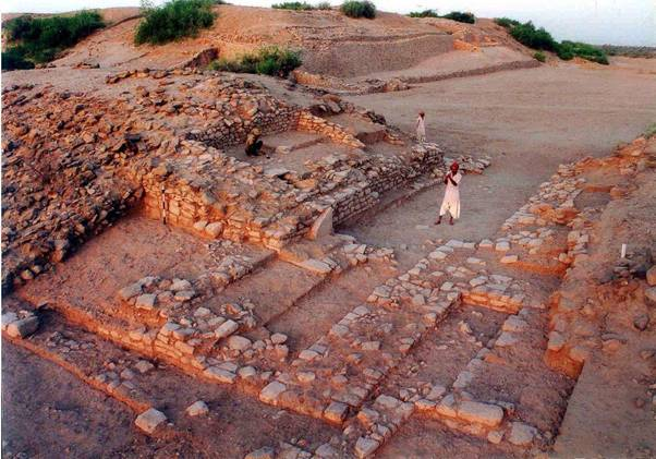 Dholavira site, which has been included in the World Heritage Site list by UNESCO