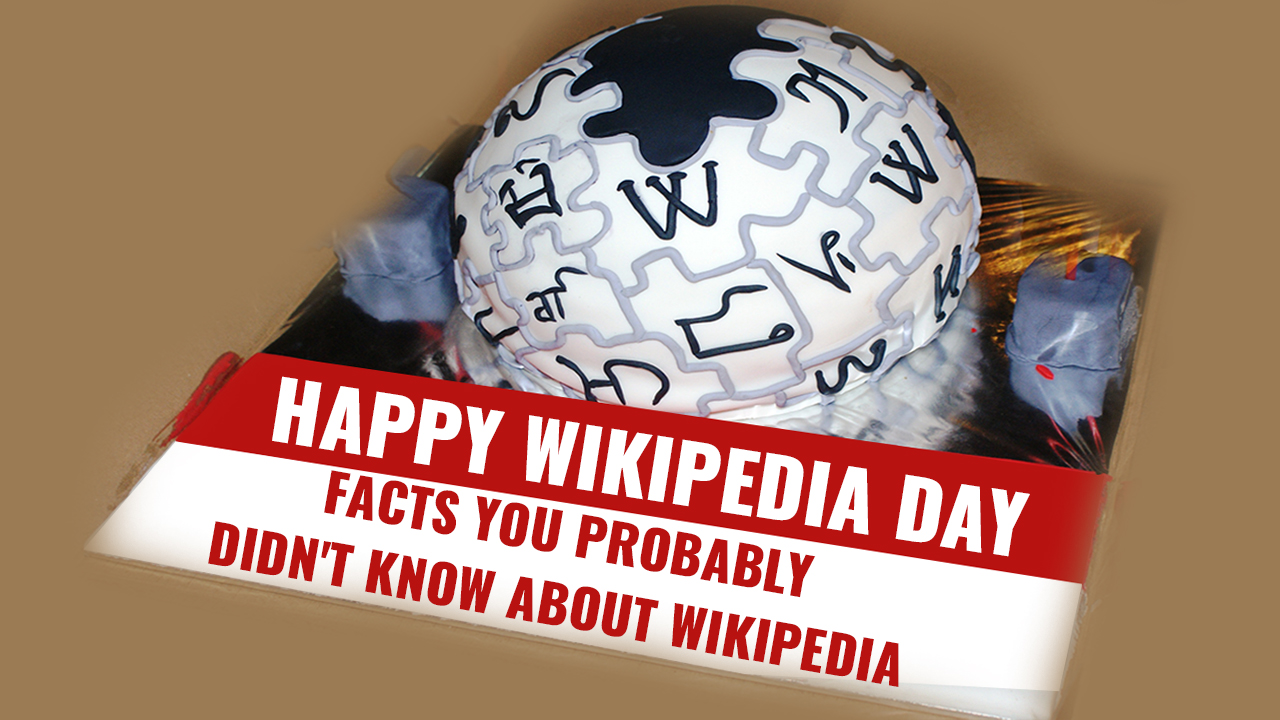 Wikipedia Day 2021 | Facts You Probably Didn't Know About Wikipedia