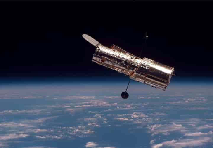 For the space buffs it was great news that the Hubble telescope has started working and sent some spectacular images  (Pic: Courtesy NASA)