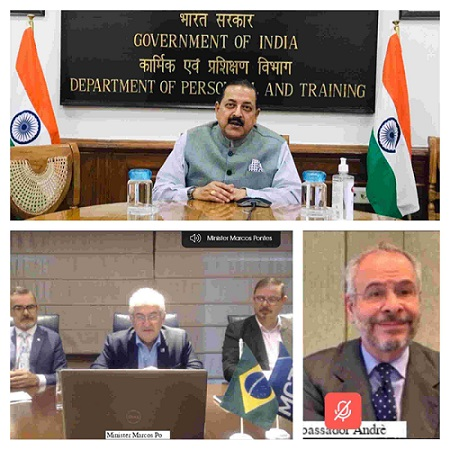 Minister of State for Atomic Energy and Space, Jitendra Singh, said that India's ascent to the World Comity of Nations will happen via Space Technology