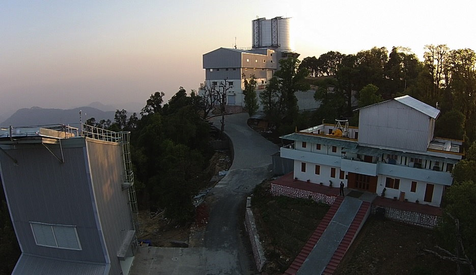 A world-class, 3.6 meter optical telescope has been set up at Devasthal as India forges ahead in international collaborations in new and emerging areas in science and technology and in other common global challenges