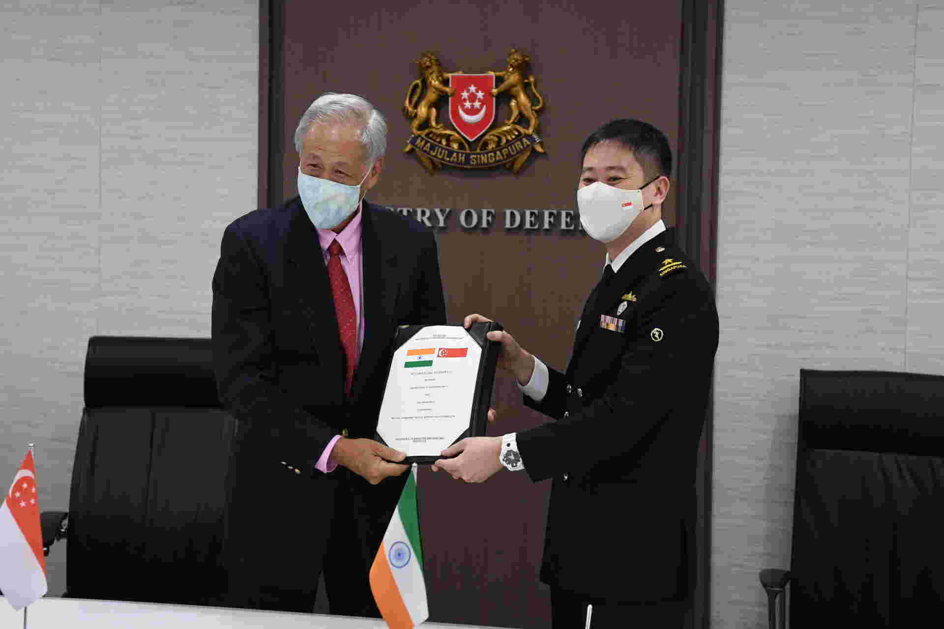 Singapore Defence Minister Dr Ng Eng Hen (Image courtesy: Ministry of Defence, Singapore)