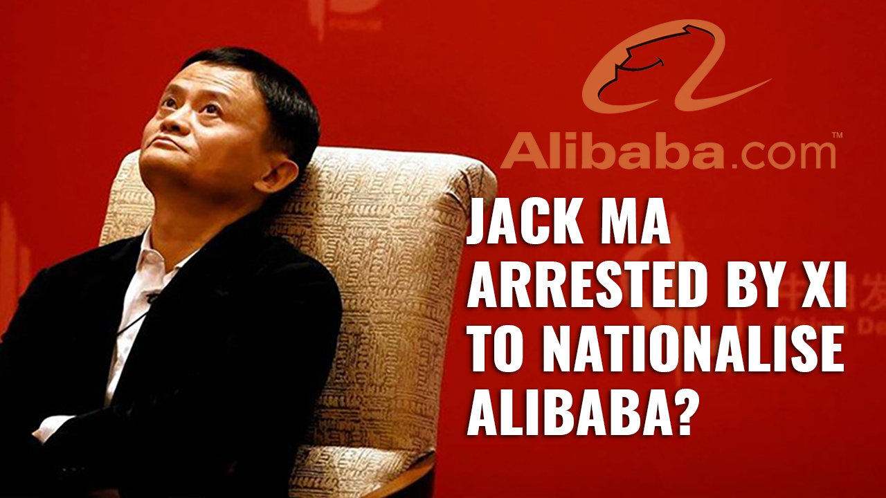 China May Nationalize Alibaba, Impacting Companies with Ma's Stakes Worldwide