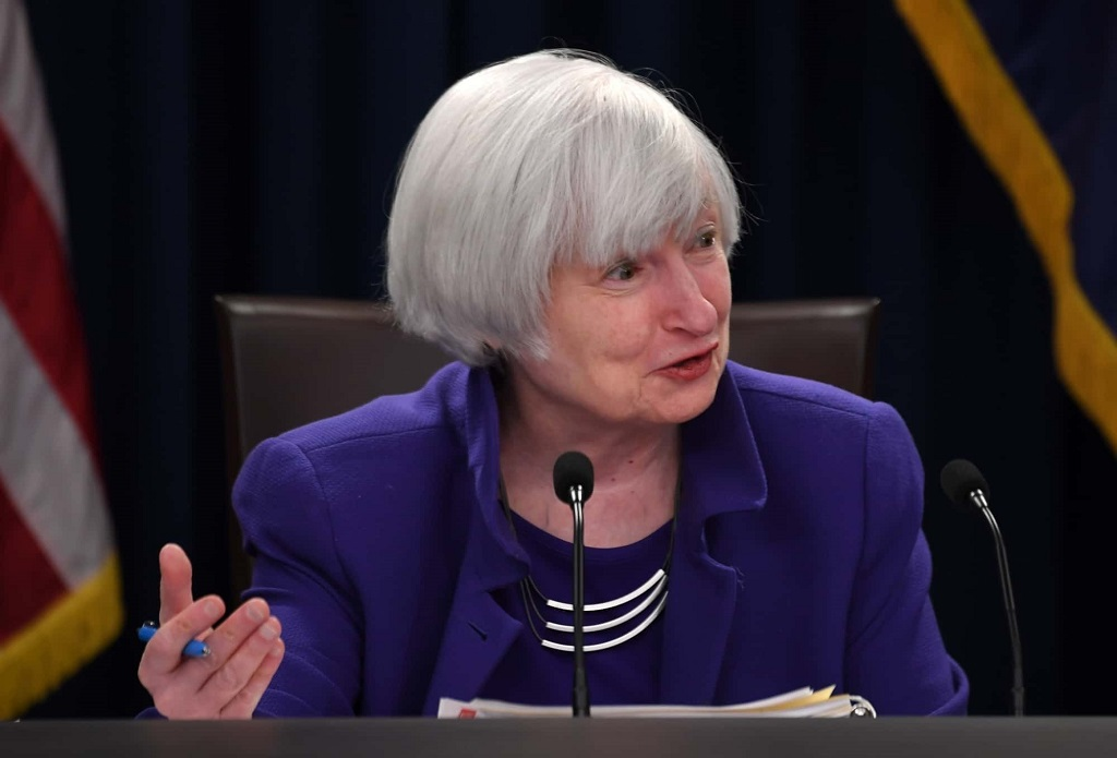 Janet Yellen, Secretary of US Treasury Department