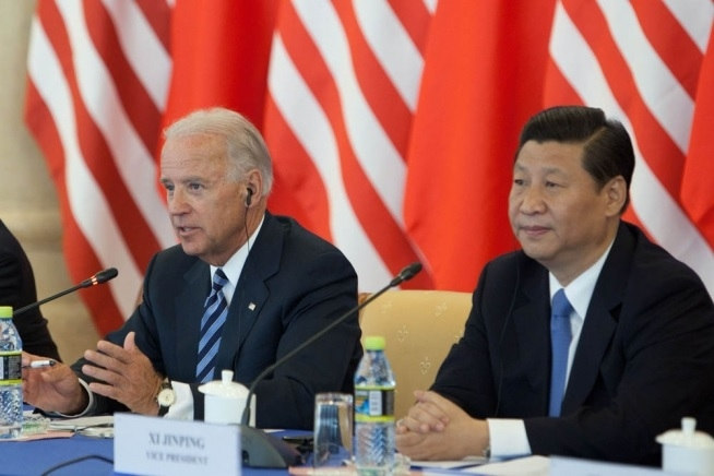 Joe Biden and Xi Jinping in happier times (US Government)