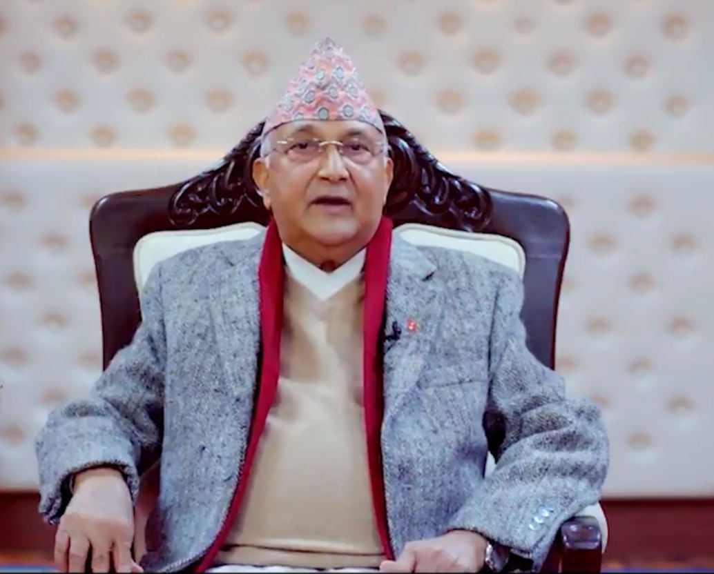 Reports from Kathmandu say that Prime Minister KP Sharma Oli has dug in his heels (IANS)
