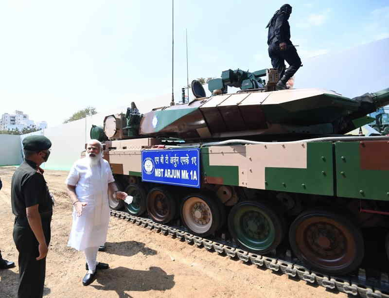 The MBT Arjun Mk 1A