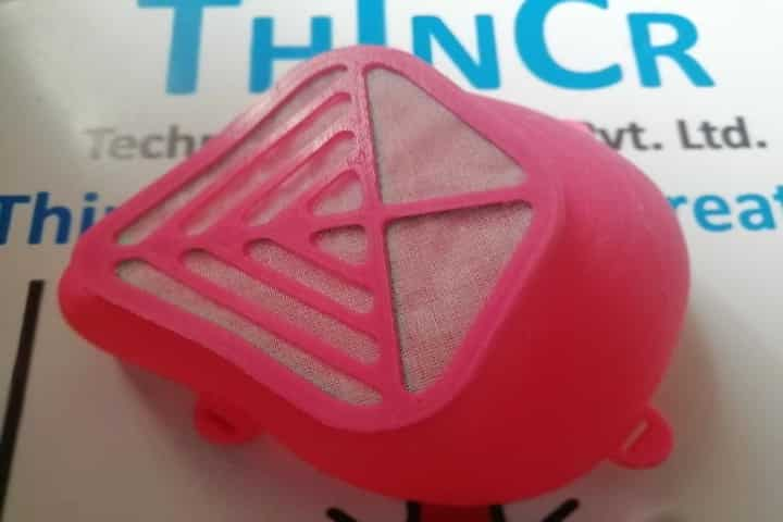 A Pune-based start-up has made a new mask with a virucidal coating