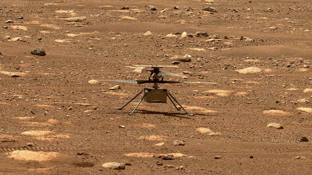 The mini helicopter began its flight approximately at 3:45 p.m. (India time) and the data was received at NASA headquarters around 4.25 p.m. (India time). It took off a few feet from the ground, hovered in the air for about 20 to 30 seconds, and landed