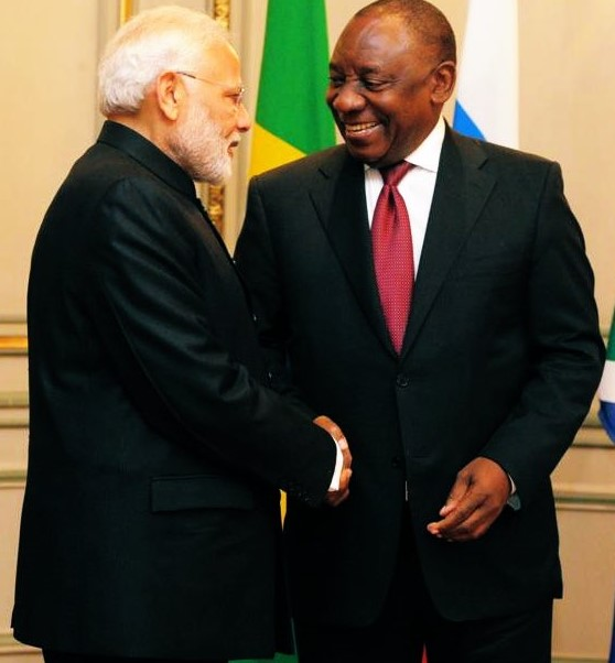Prime Minister of India Narendra Modi and South African President Cyril Ramaphosa must forge a vaccine alliance
