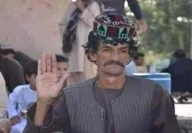 """Afghan comedian Nazar Mohammad was killed by the Taliban for his affiliation with the """"notorious"""" pro-government forces"""