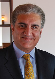 Pakistan's Foreign Minister, Shah Mehmood Qureshi, formally declared that Islamabad was okay with India's abrogation of Article 370 (Pic: Courtesy Wikimedia Commons)