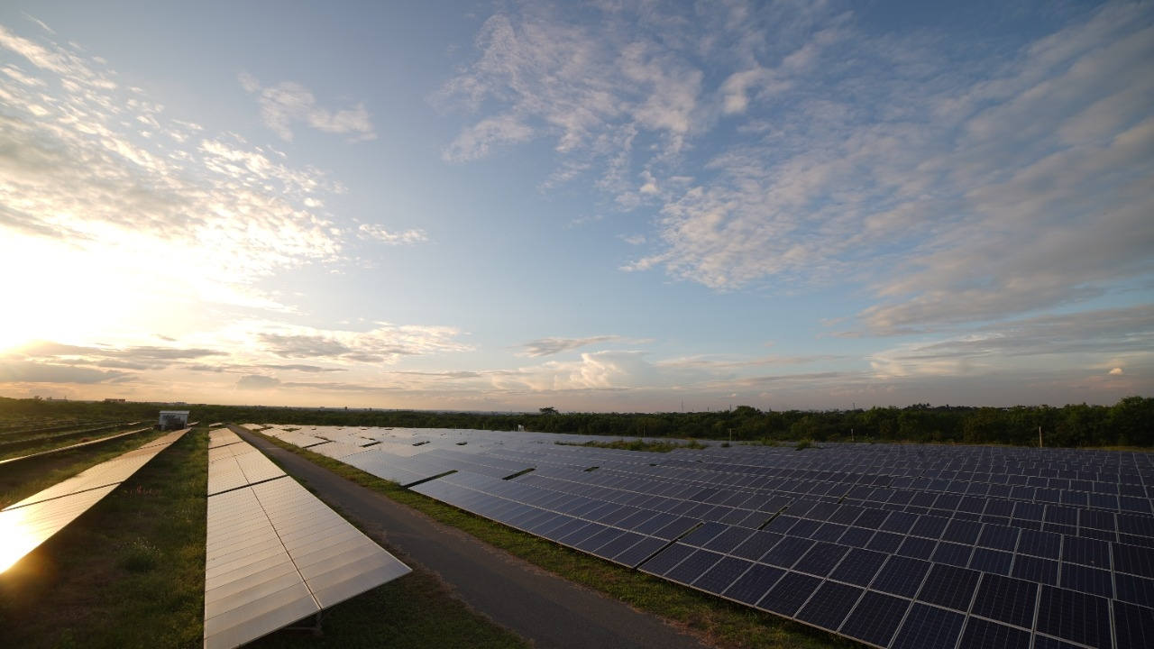 Solar power is increasingly helping countries meet green goals (Photo: IANS)