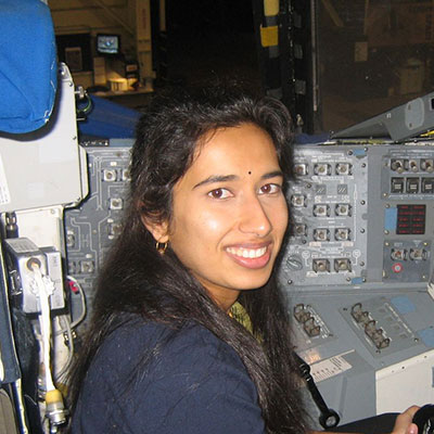 Swati Mohan is the Mars 2020 Guidance, Navigation, and Controls Operations Lead