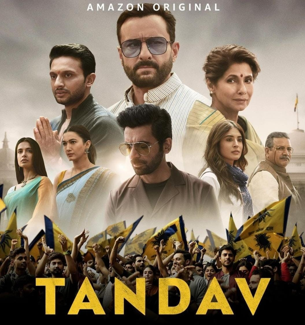Poster of the web series 'Tandav'