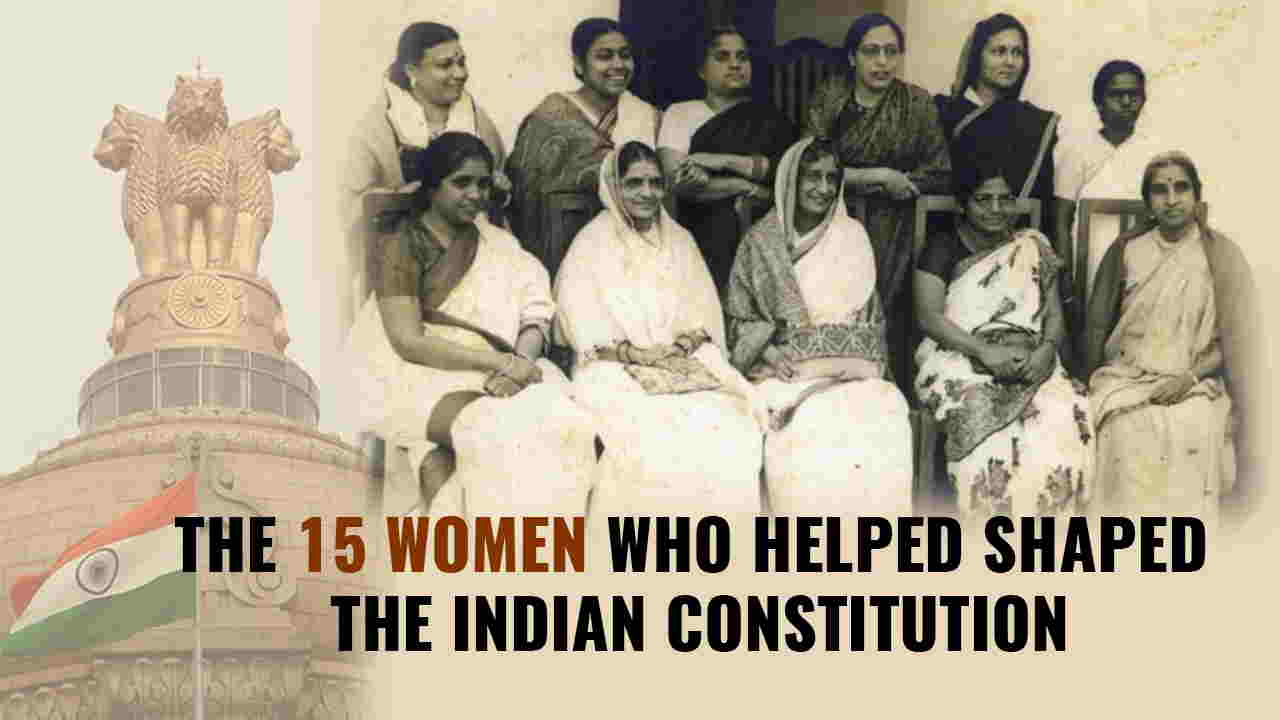 15 Women who Contributed in Shaping Constitution of India