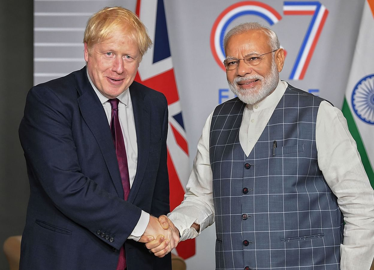 UK-Prime-Minister-Boris-Johnson-and-PM-Narendra-Modi