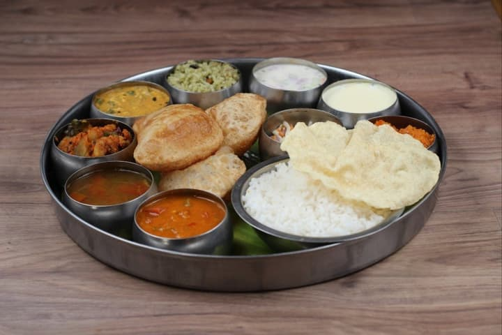 The mouth-watering Udupi thali (All pictures courtesy scmp.com)