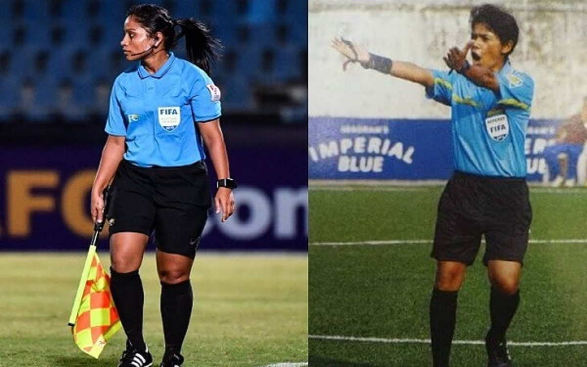 The story of two path-breaking women officials - Uvena Fernandes and Maria Rebello - would inspire many, not just on International Women's Day 2021, but for generations to come (Image courtesy: AIFF)