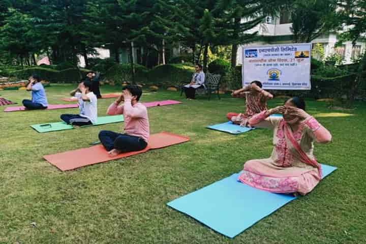 The Ministry of Ayush has issued guidelines for using Yoga to boost immunity to combat against Covid-19 (Pic Courtesy PIB)