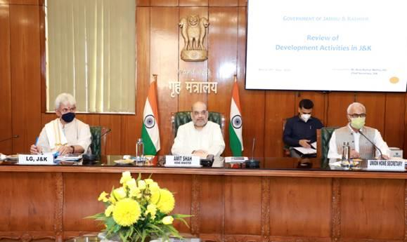 The Home Minister impressed upon speedy completion of the Prime Minister's development package, flagship and iconic projects and industrial development projects. He directed to ensure the benefits of the refugee package to all the refugees from PoJK, West Pakistan and those who had to migrate from Kashmir to Jammu at the earliest