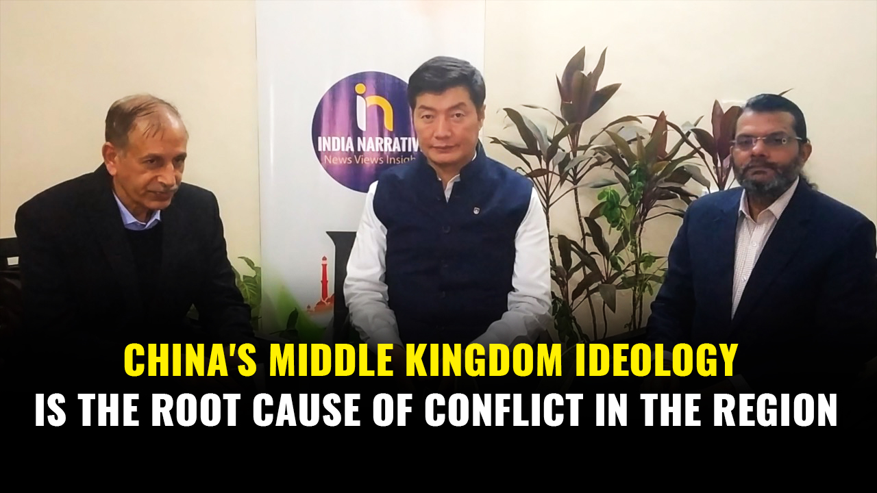 China's Middle Kingdom ideology is the root cause of conflict in the region