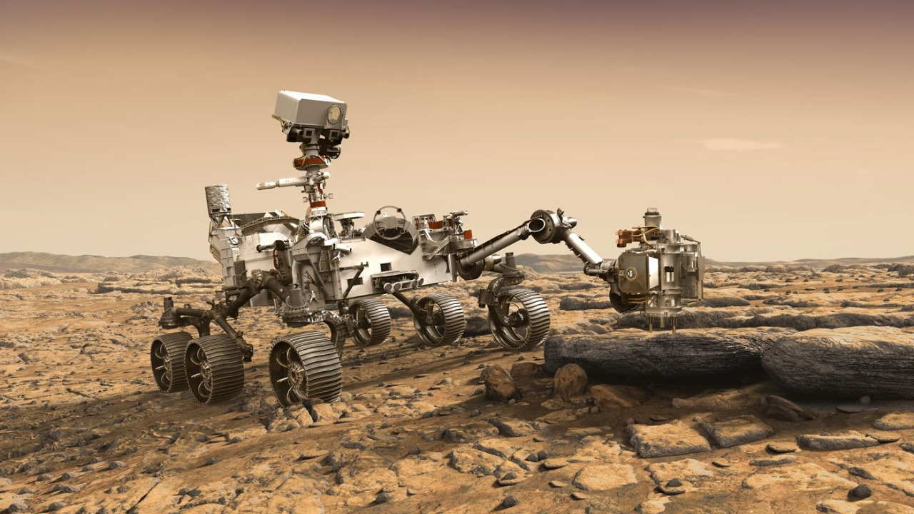 NASA had successfully landed the Perseverance rover in a deep crater near Mars' equator called Jezero last month
