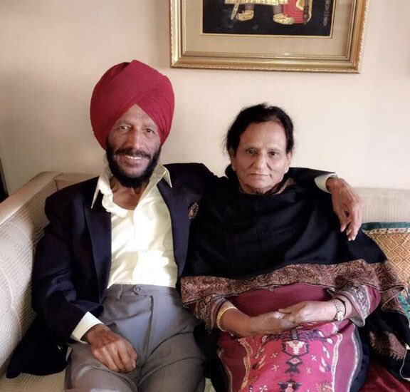 'Flying Sikh' Milkha Singh died at the age of 91 on Friday night due to post Covid-19 complications. His wife, Nirmal Kaur, a former India volleyball captain, had also lost her battle to the virus five days ago (Image courtesy: Twitter/Jeev Milkha Singh)