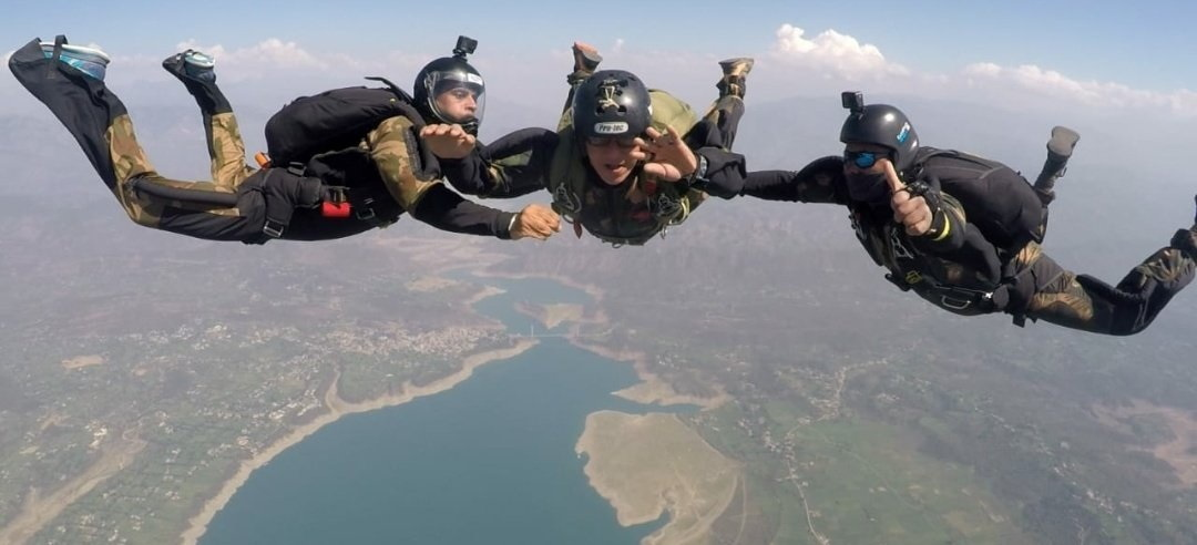 Building bonds of friendship: Special Forces Training School of the Indian Army commences training of Turkmenistan Special Forces in Combat Free Fall (Images courtesy: Additional Directorate General of Public Information, Indian Army)