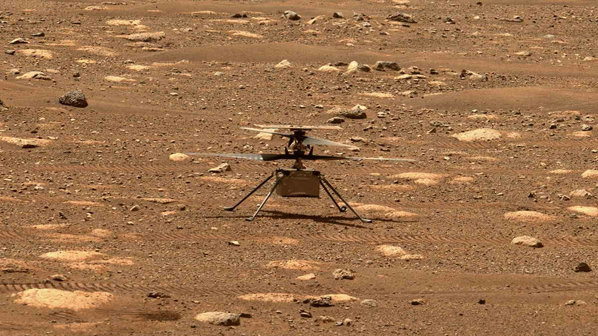 The Mars Helicopter, Ingenuity, is a technology demonstration to test powered flight on another world for the first time. It hitched a ride to Mars on the Perseverance rover, which made a February 18 touch down on the Red Planet