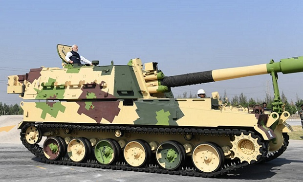 The government's decision to restructure the Ordnance Factory Board (OFB) comes as a part of the clarion call given by Prime Minister Narendra Modi in May 2020 for an Atmanirbhar Bharat or the Self-Reliant India Movement (Image courtesy: PIB)