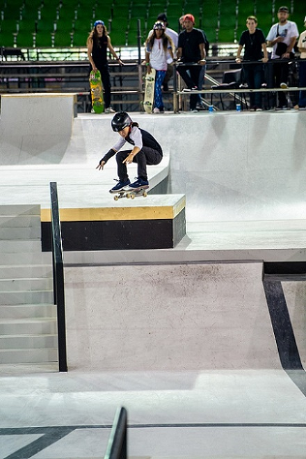 Skateboarding is making a debut at the Tokyo Olympic Games as part of Tokyo 2020's vision of a youth-focused and inspiring Games (Image courtesy: World Skate Skateboarding)