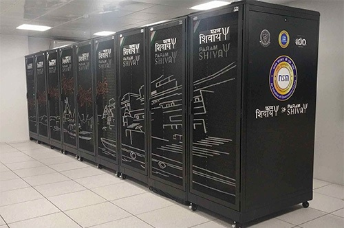 PARAM Shivay, the first supercomputer assembled indigenously, was installed in IIT (BHU), followed by PARAM Shakti, PARAM Brahma, PARAM Yukti, PARAM Sanganak at IIT-Kharagpur IISER, Pune, JNCASR, Bengaluru and IIT Kanpur